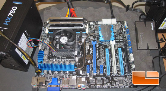 AMD A85 Test System