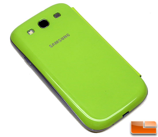Samsung Galaxy S III Flip Cover Glossy Back