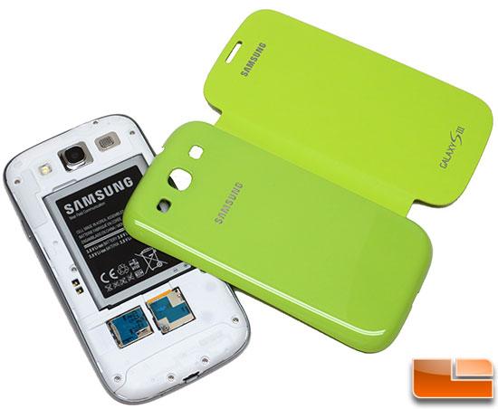 Samsung Galaxy S III Flip Cover Installation