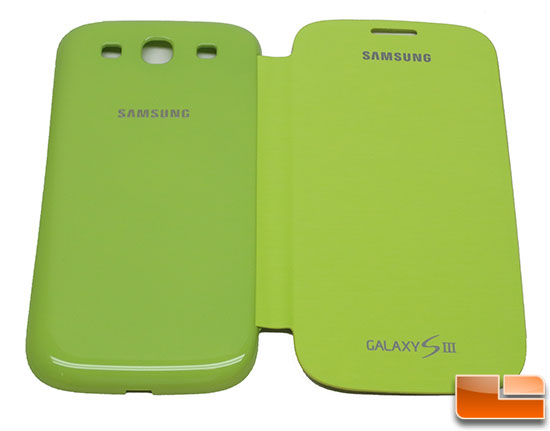 Samsung Lime Green Flip Cover