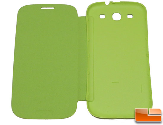 Samsung Galaxy S III Green Flip Cover