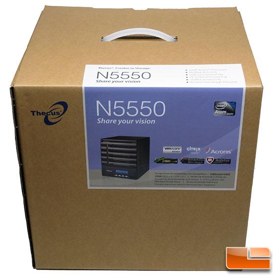 thecus-n5550-box