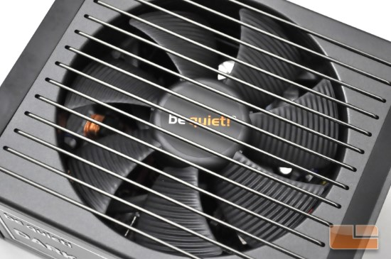 Be Quiet! Dark Power Pro 10 650W fan view