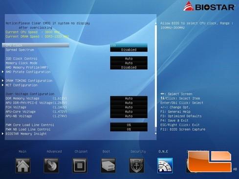 Hi-Fi A85W UEFI BIOS