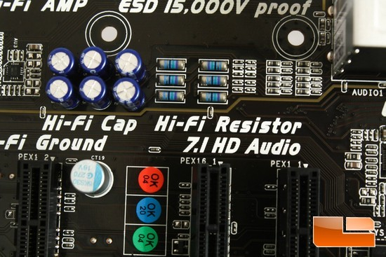 Hi-Fi A85W Audio Resistors/Capacitors
