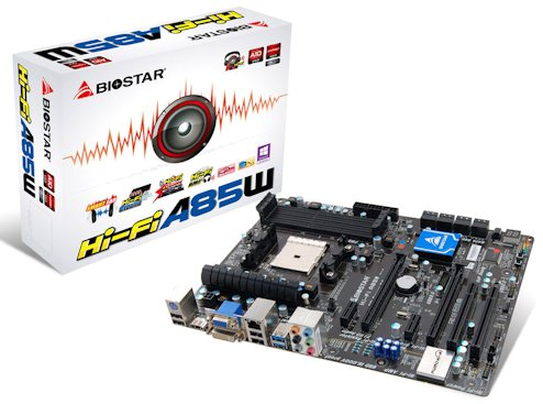 BIOSTAR Hi-Fi A85W Motherboard Review