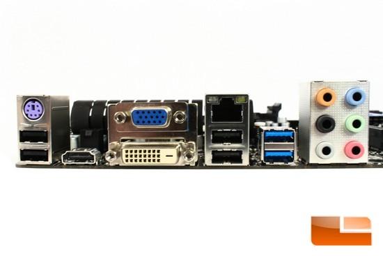 Hi-Fi A85W Rear IO Ports