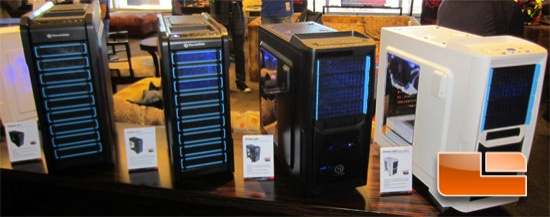 CES 2013: ThermalTake Chaser Cases, Water 3.0, BlackX 5G Snow & More!
