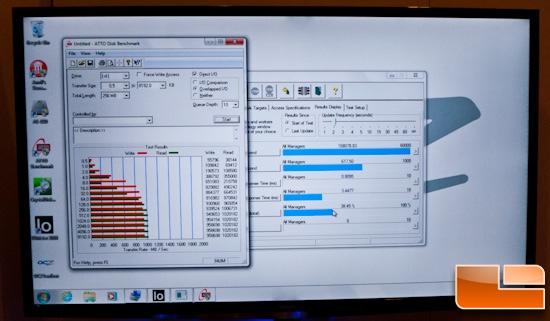 OCZ Vector PCI-E ATTO