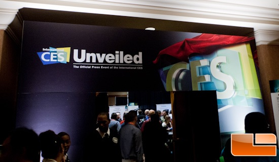 CES 2013 – CES Unveiled Media Kickoff Event Coverage