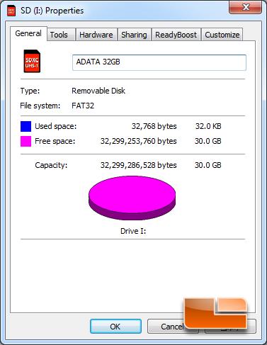 ADATA Premier Pro 32GB Capacity