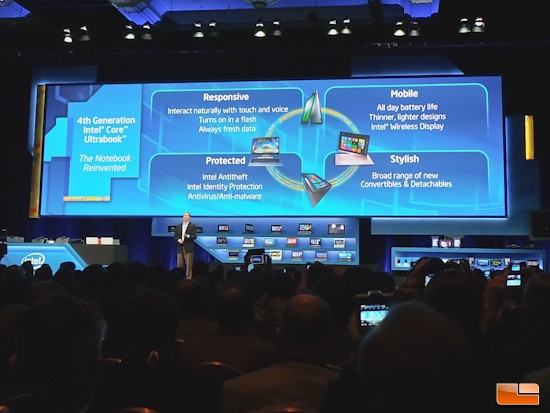 Intel CES 2013 4th Gen Core