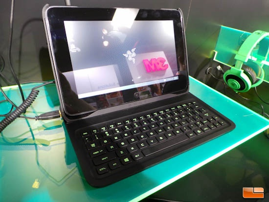 Razer Edge Keyboard