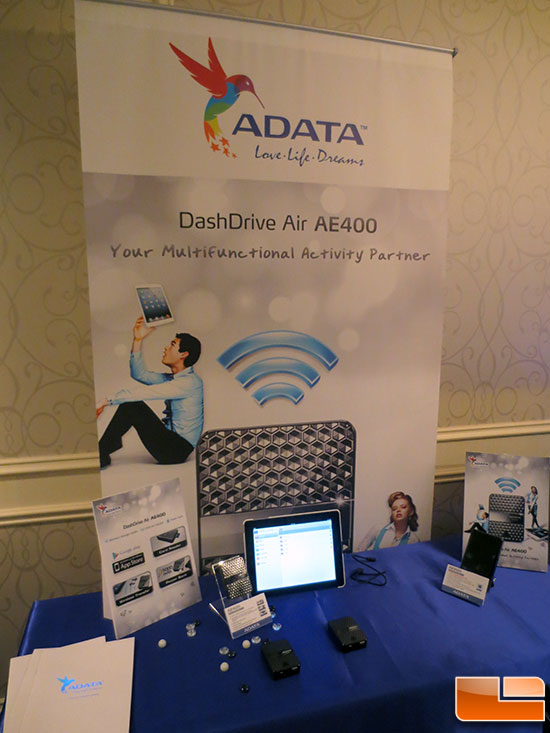 A-DATA CES 2013 Suite