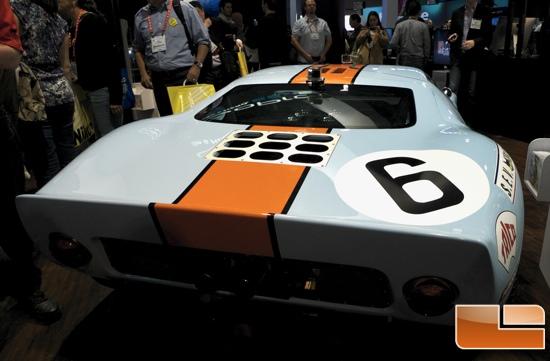 CES 2013 GoPro Car