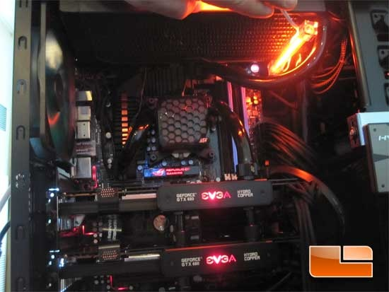 Swiftech H220 AIO Water Cooler SLI Configuration