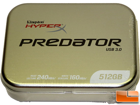 Kingston DataTraveler HyperX Predator 512GB USB 3.0 Flash Drive Review