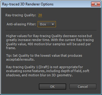 Ray-Traced 3D Renderer Quality