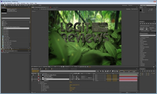 NVIDIA Kepler versus Fermi in Adobe After Effects CS6