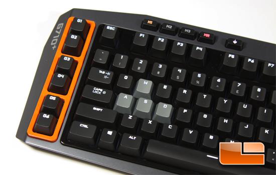 Logitech G710+ G Keys