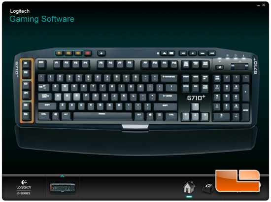 Logitech G710+ Game Software