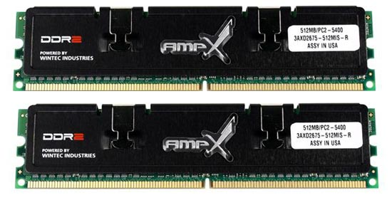 Wintec Industries PC5400 DDR 2 memory