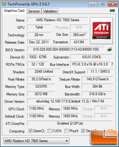 ASUS ARES 2 GPU-Z