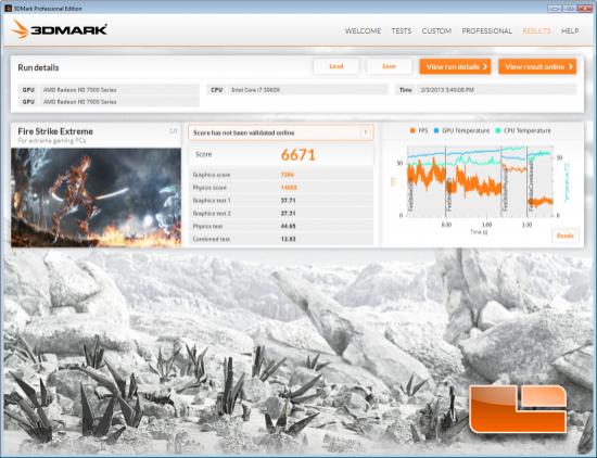 3DMark Fire Strike Extreme