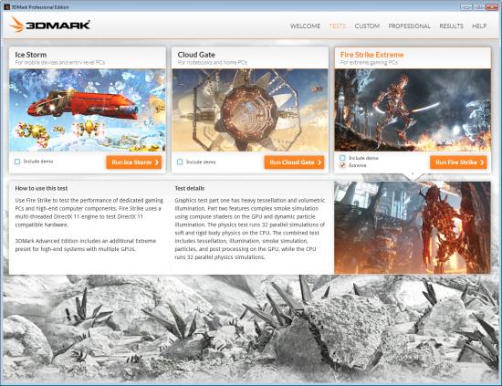 Futuremark 3DMark Tests