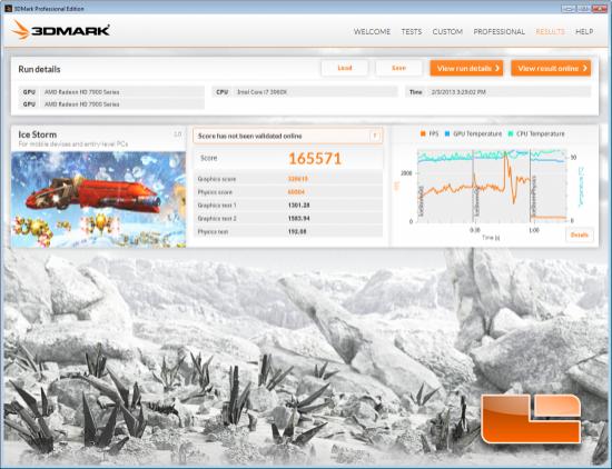 3DMark Ice Storm