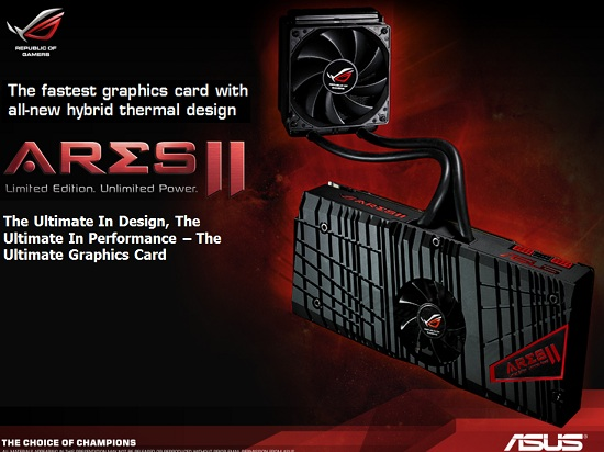 ASUS ARES II Video Card Review