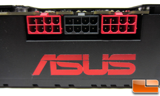 ASUS ARES II Power Connectors