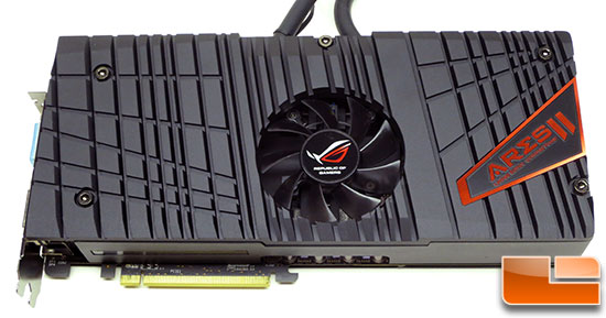 ASUS Ares II Graphics Card Front