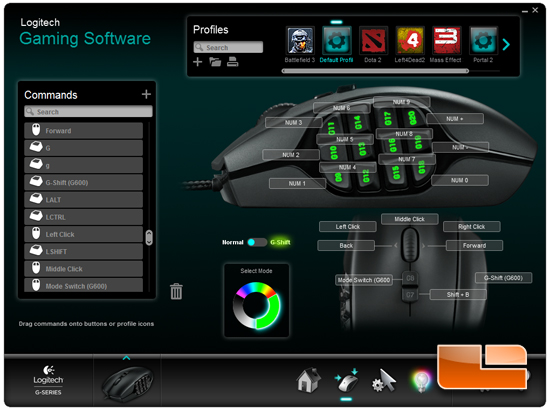 Logitech G600 Game Software