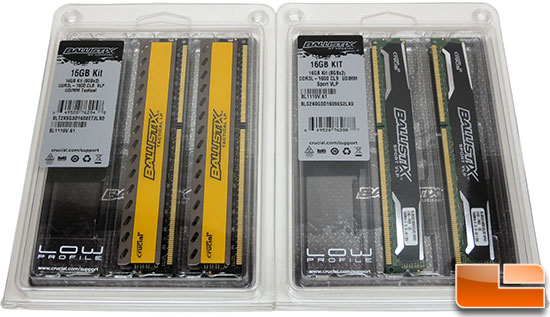 Crucial Ballistix Tactical LP and Sport VLP 1600MHz DDR3 Memory Kit Review
