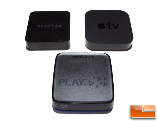 WD Netgear Apple Media Players