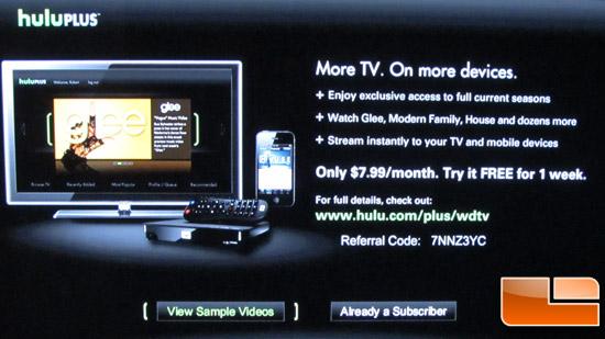 WD Play Hulu