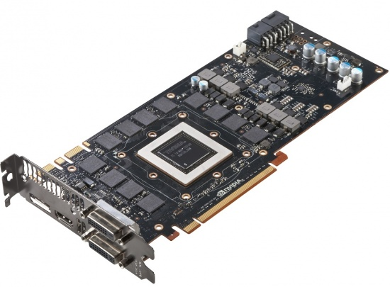 NVIDIA GeForce GTX Titan Video Card PCB