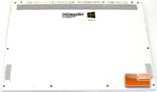 ACER S7 191 External Features