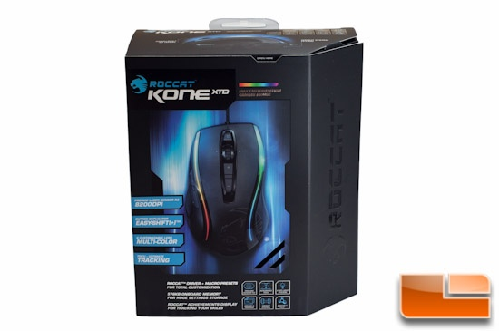 ROCCAT Kone XTD Front Packaging