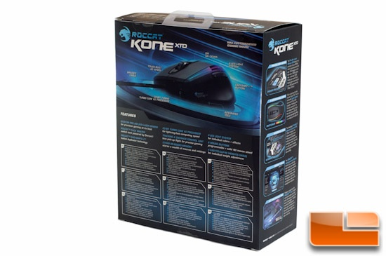 ROCCAT Kone XTD Rear Packaging