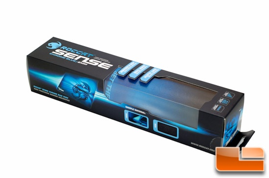 ROCCAT Sense Mousepad - Chrome Blue