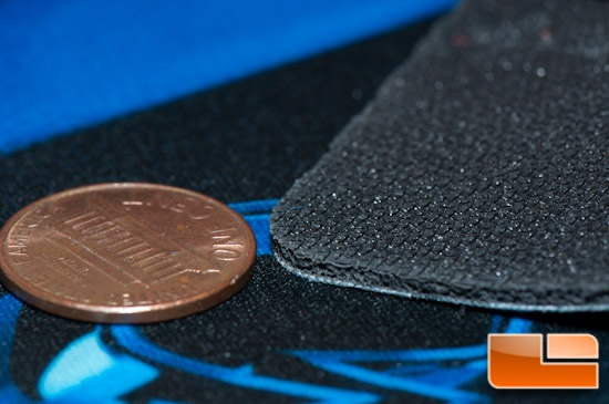 ROCCAT Sense Mousepad Thickness and Back Material