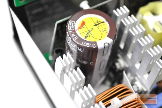 Seasonic G 550W main capacitor