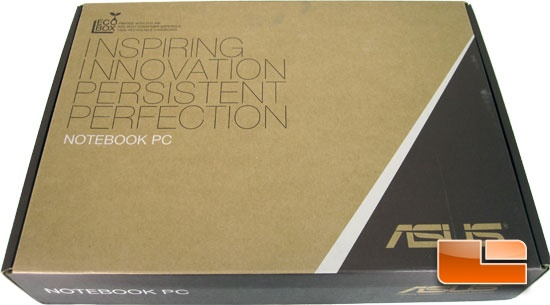 ASUS S500C Ultrabook Retail Packaging