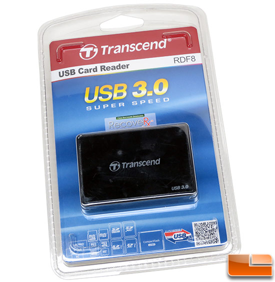 Transcend USB 3.0 Super Speed Multi-Card Reader