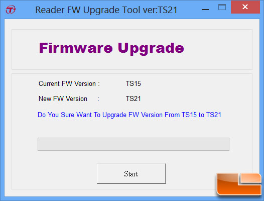 Transcend USB 3.0 Card Reader Firmware Update