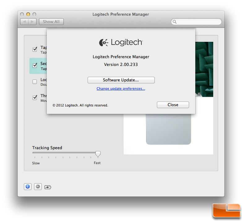 Logitech T651 Software