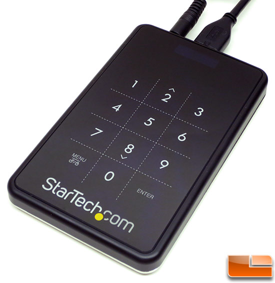 StarTech Encrypted USB 3.0 Portable Hard Drive