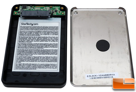 StarTech Encrypted USB 3.0 Portable Hard Drive Internals